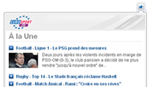 Eurosport pour Chrome 2.1.3