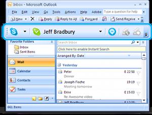 Skype Email Toolbar 1.40.0.4611