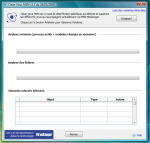 Clean Virus MSN 4.6.1