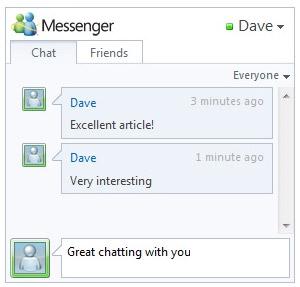Windows Live Messenger Connect Bêta