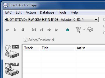 Exact Audio Copy 1.0 beta 3