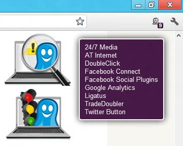 Ghostery pour navigateurs et iOS
