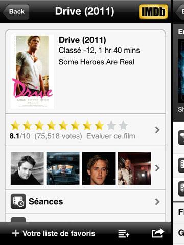 IMDb iPhone et iPad