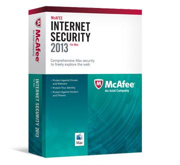 McAfee Internet Security pour Mac 2013