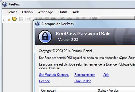 KeePass Portable 2.29