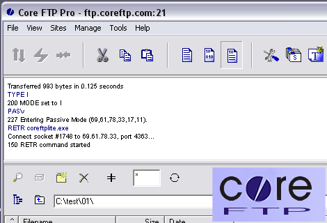 Core FTP Pro 2.2 (build 1853)