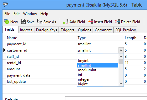 Navicat for MySQL pour Windows