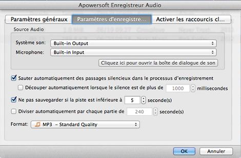 Apowersoft enregistreur audio pour Mac 2.4.2