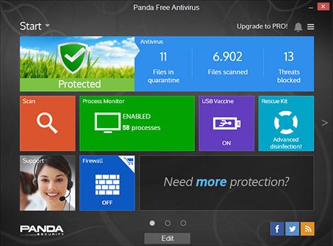 Panda Free Antivirus 18.0.0