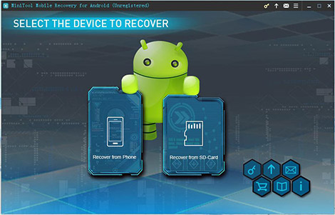 MiniTool Mobile Recovery pour Android