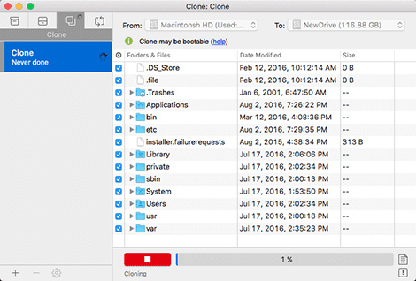 EaseUS Todo Backup Mac