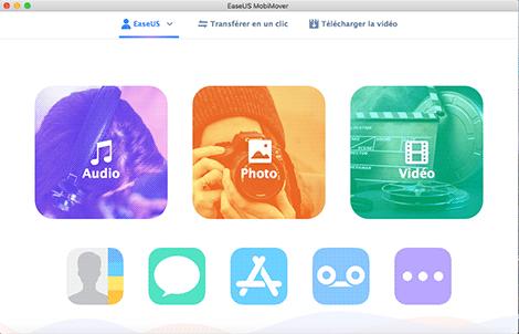 EaseUS MobiMover Free pour Mac 4.0