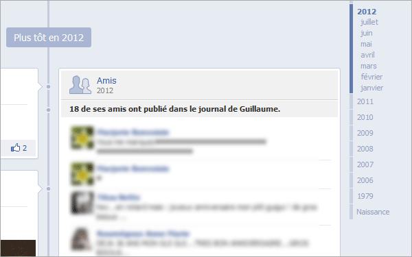 Des messages privés sur Facebook
