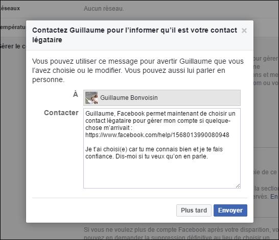 Mort sur Facebook