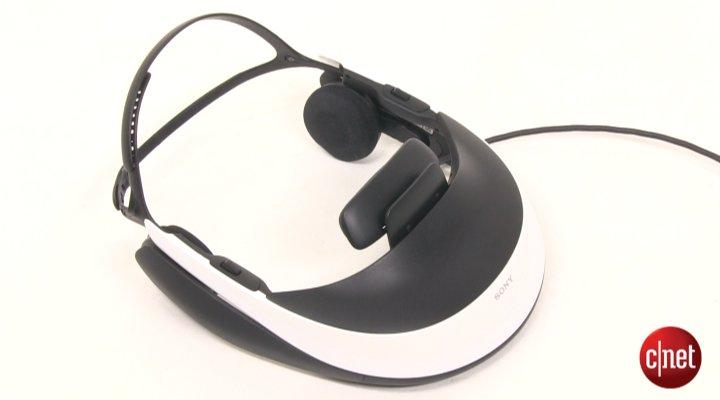 Démo du Démo du Sony 3D HMZ-T1 Visiocasque