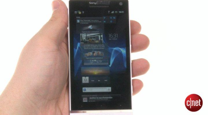 Démo du Sony Xperia S