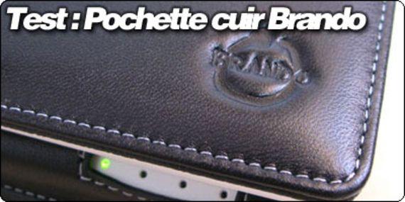 Test : La pochette cuir spéciale EEEPC de Brando.