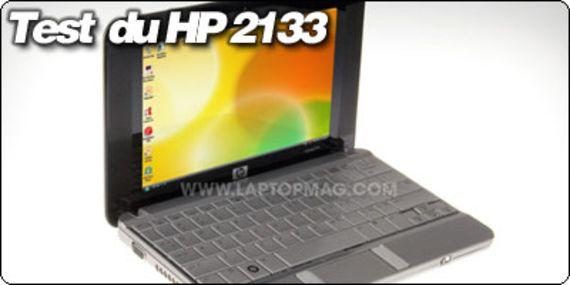 LaptopMag.com teste et filme le HP 2133 Mini note !