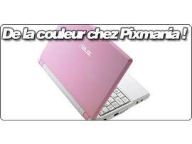 Des EeePC de couleur chez Pixmania !