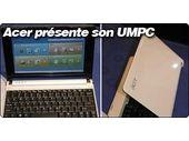 Acer présente à son tour son Netbook : l'Acer Aspire One.