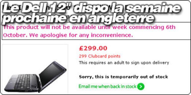 """Le Dell Inspiron 12"""" disponible la semaine prochaine en Angleterre."""