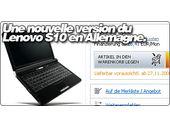 Une nouvelle version du Lenovo S10 apparaît en Allemagne.