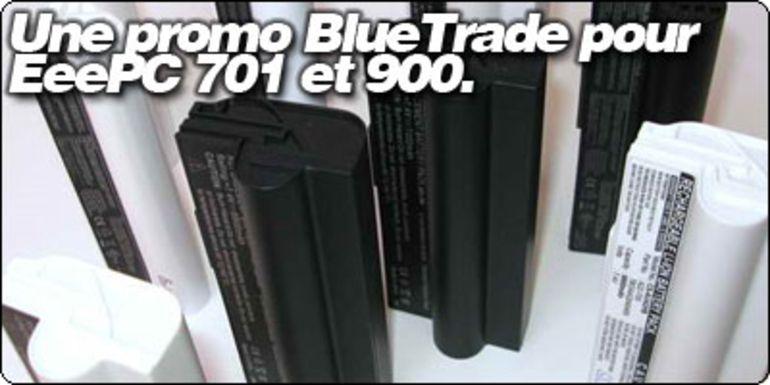 Une promo flash de batterie pour EeePC 701 et 900 chez RueDuCommerce.