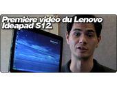 Le Lenovo Ideapad S12 en vidéo.