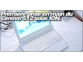 Premiers pas avec le Lenovo S12 sous NVIDIA ION.