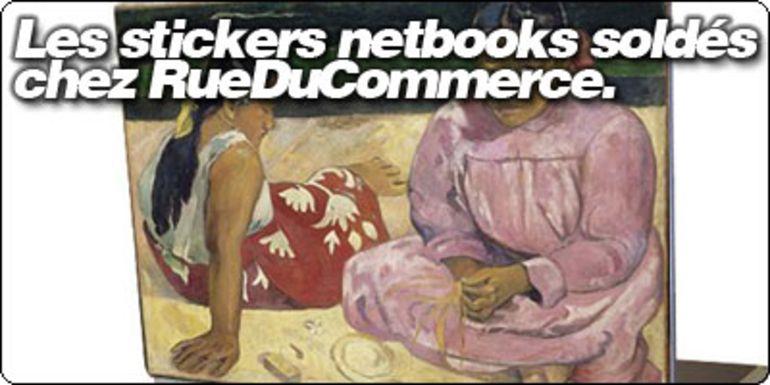 Les Stickers netbooks soldés chez Rueducommerce.com