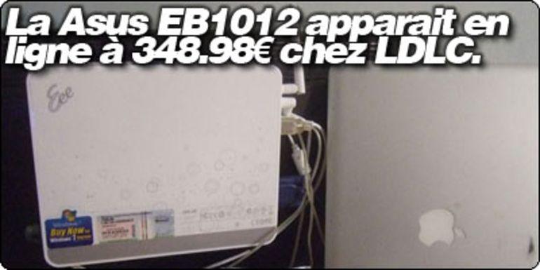 La Asus EeeBOX EB1012 sous Nvidia ION et Atom 330 apparait à 348.98€ chez LDLC.
