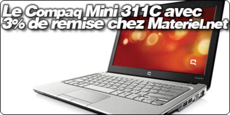 Le HP Compaq Mini 311C en precommande avec 3% de remise chez Materiel.net.