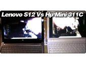 Lenovo S12 ION face au Compaq Mini 311C : vidéo.