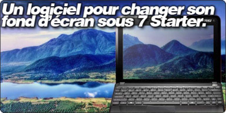 Un Logiciel Gratuit Pour Changer Facilement Son Fond D Ecran Sous Windows 7 Starter Cnet France
