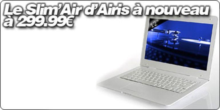 Le Airis Slim'Air à nouveau à 299.99€ chez CDiscount.