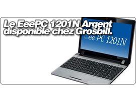 Le Asus EeePC 1201N Argent enfin disponible en France.