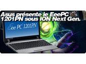 Asus présente le EeePC 1201PN sous ION Next Gen.