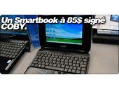 Un Smartbook à 85$ signé COBY.