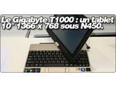 Le Gigabyte T1000 : un tablet 10