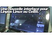 Une nouvelle interface pour Linpus Linux au CeBit.