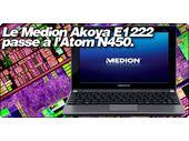 Le Medion Akoya E1222 passe à l'Atom N450.