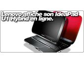 Lenovo affiche son IdeaPad U1 Hybrid en ligne.