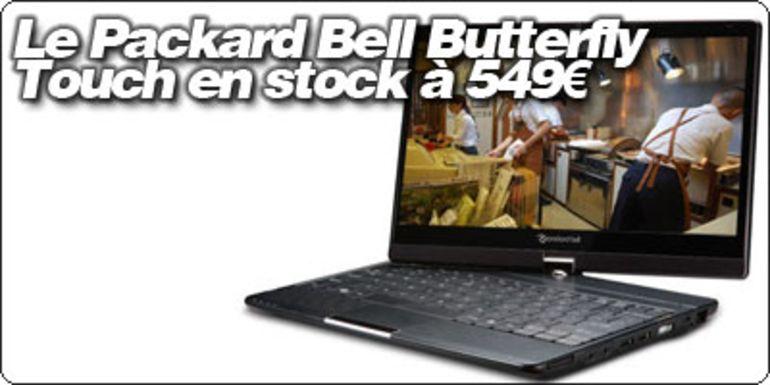 """Le Packard Bell Butterfly Touch 11.6"""" disponible à 549€ à la FNAC."""
