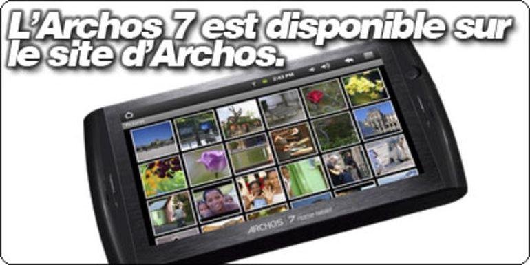 L'Archos 7 Home Tablet est dispo... Aux US.