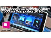 MSI dévoile la WindPad : Une tablette 10
