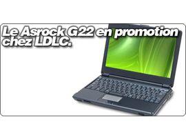 L'Asrock G22 sous Nvidia ION en promo à 389.95€ chez LDLC.