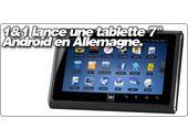 Le fournisseur d'accès Allemand 1&1 sort une tablette 7