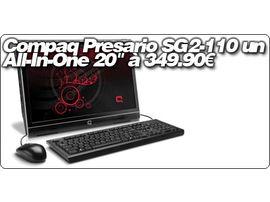 """Compaq Presario SG2-110 un All-In-One 20"""" à 349.90€"""