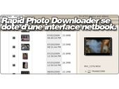 Rapid Photo Downloader se dote d'une interface netbook.