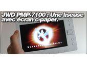 JWD PMP-7100 : Une liseuse avec écran c-paper.